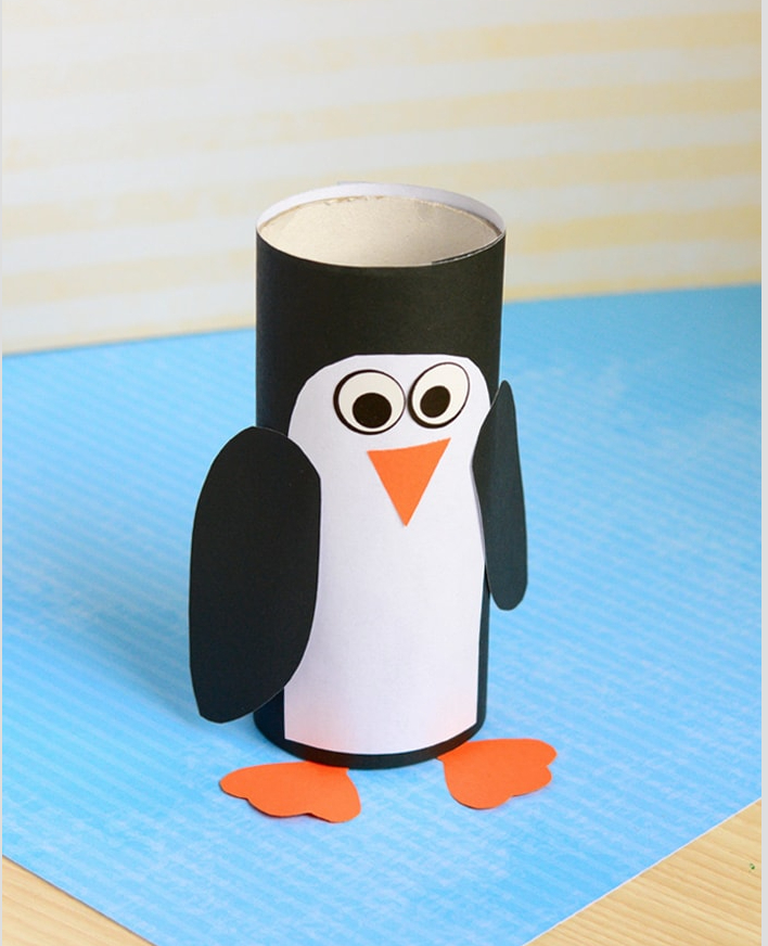 Creative crafts with toilet paper roll 25 Cool Toilet Paper Roll Crafts A Little Craft In Your Day