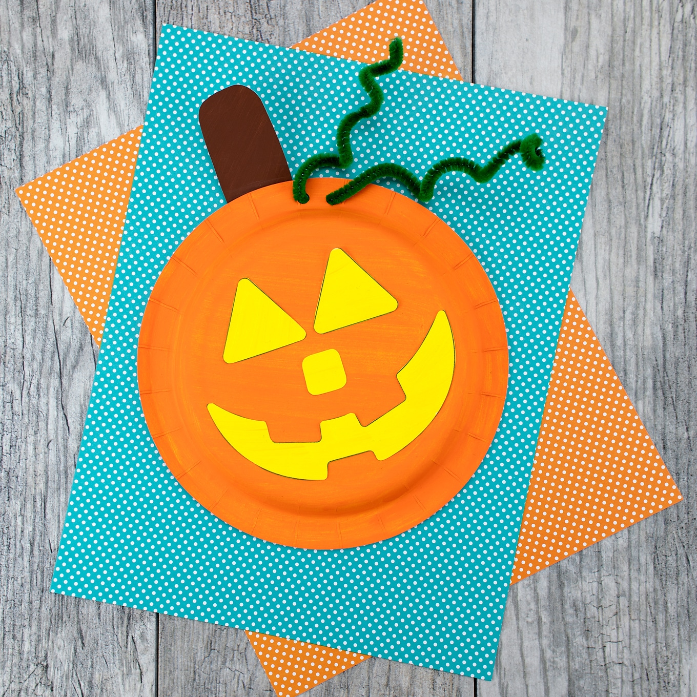 Creative ideas for pumpkin paper crafts design How To Make An Easy And Fun Paper Plate Pumpkin Craft