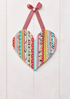 Diy Crafts With Paper 25 Easy Paper Heart Projects Valentines Ideas Crafts Pinterest
