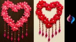 Diy Crafts With Paper Diy Paper Craft Paper Heart Design Valentines Day And Room Decor