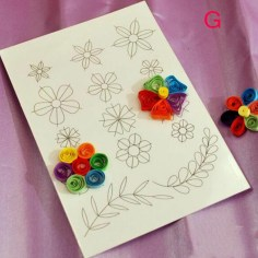 Diy Crafts With Paper Template Flower Clipbook Paper Crafts Diy Tools Quilling Rolling Kit