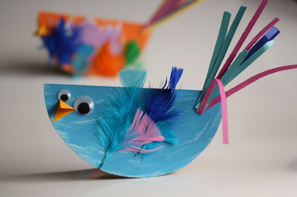 Easy Paper Craft Ideas For Kids More Stunning But Easy Paper Craft Ideas For Kids