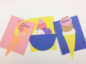 Fun Crafts With Construction Paper How To Make A Simple Construction Paper Monster Craft Twitchetts