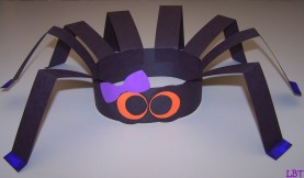 Fun Crafts With Construction Paper Lbt Spider Hat Another Fun And Easy Kids Craftnice