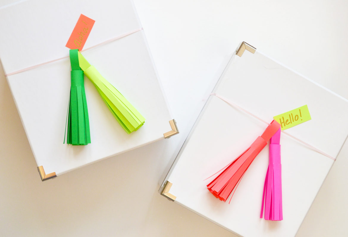 Home crafts you can make with paper How To Make Paper Tassels