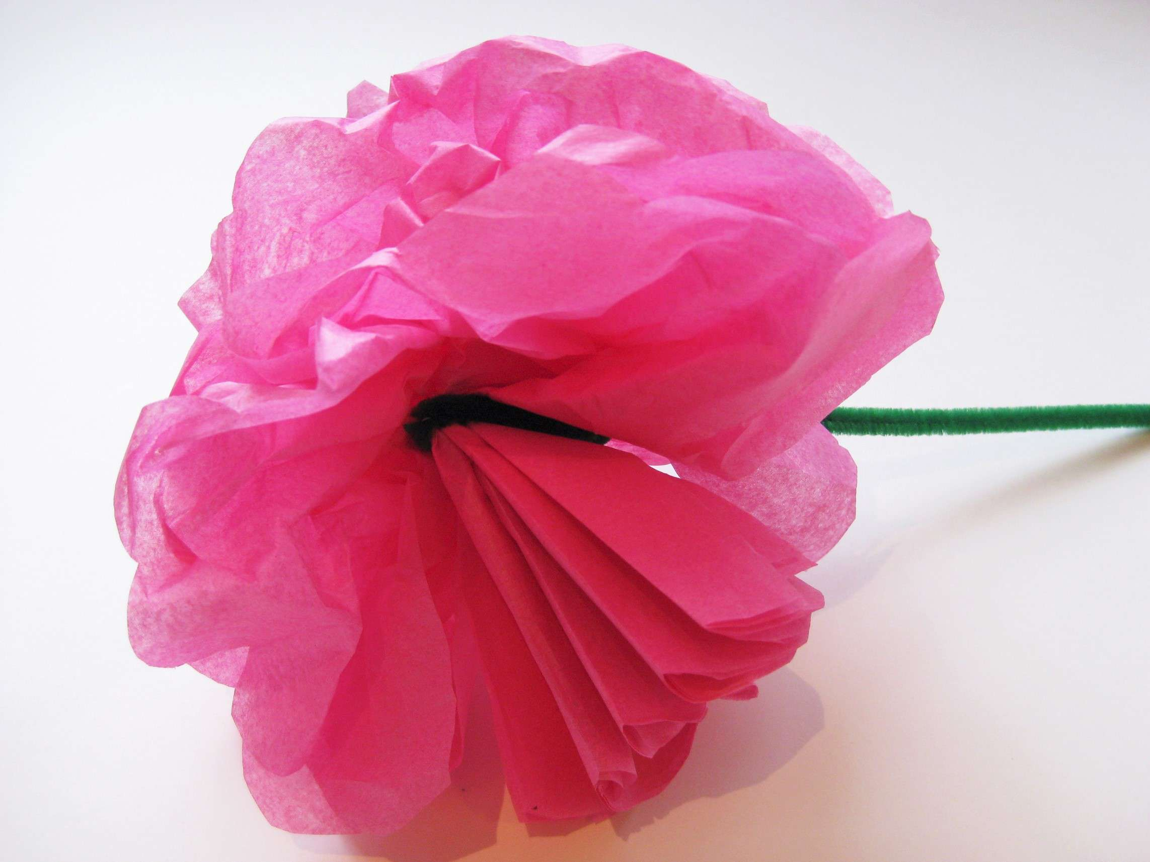 Home crafts you can make with paper Simple Steps To Craft Tissue Paper Flowers