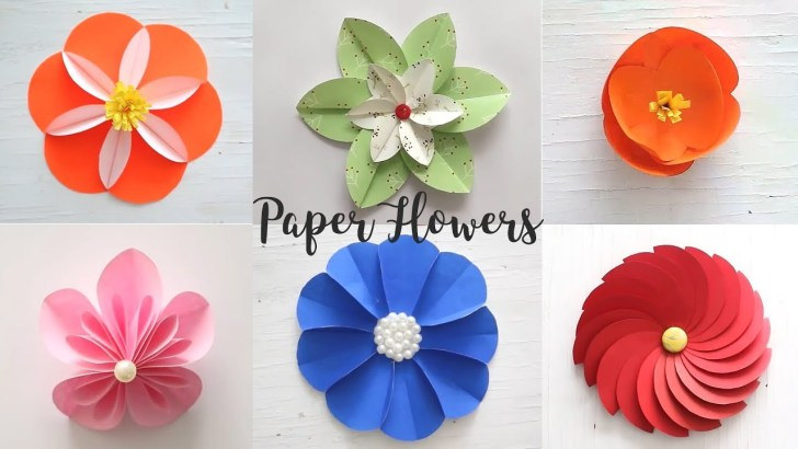 35+ Beautiful Image of How To Make A Craft Paper Flower