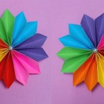 How To Make A Paper Crafts For Gifts How To Make Paper Craft Flowers Step Step Examples And Forms