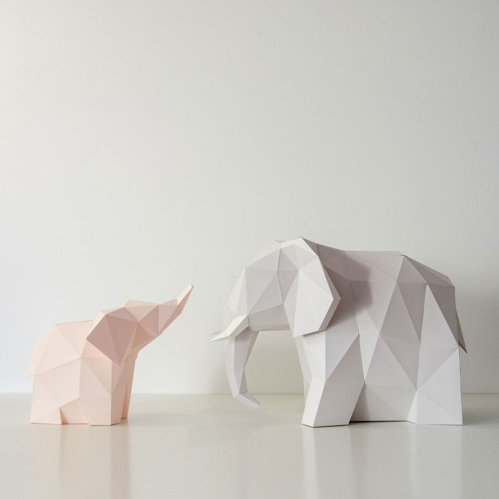How to Make an Elephant Paper Craft Fun Crafts for Kids