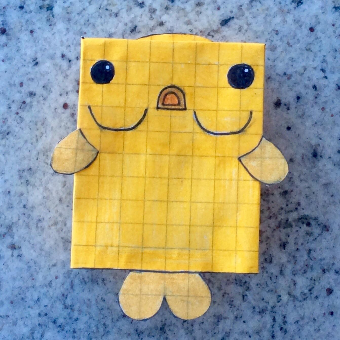 How to Make Paper Craft Fish for Kids Garibaldi Fish Papercraft Bubblefaceviii Deeeepioartworks