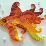 How To Make Paper Craft Fish For Kids Papercraft Fish Pez Filigrana Quilling Fish Papercraft Danart