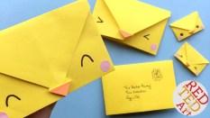 Kids Paper Crafts Origami Envelope Chick Paper Crafts For Kids Red Ted Arts Blog