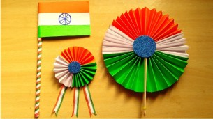 Kindergarten Paper Crafts Diy 3 Easy Republic Day Craft Independence Day Craft Paper