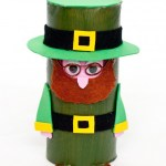 Leprechaun Toilet Paper Roll Craft Create A Cute And Easy St Patrick Leprechaun Diy Crafts