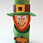 Leprechaun Toilet Paper Roll Craft Leprechaun Toilet Paper Roll Craft For St Patricks Day Crafty