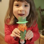 Leprechaun Toilet Paper Roll Craft Toilet Paper Roll Leprechaun Still Playing School