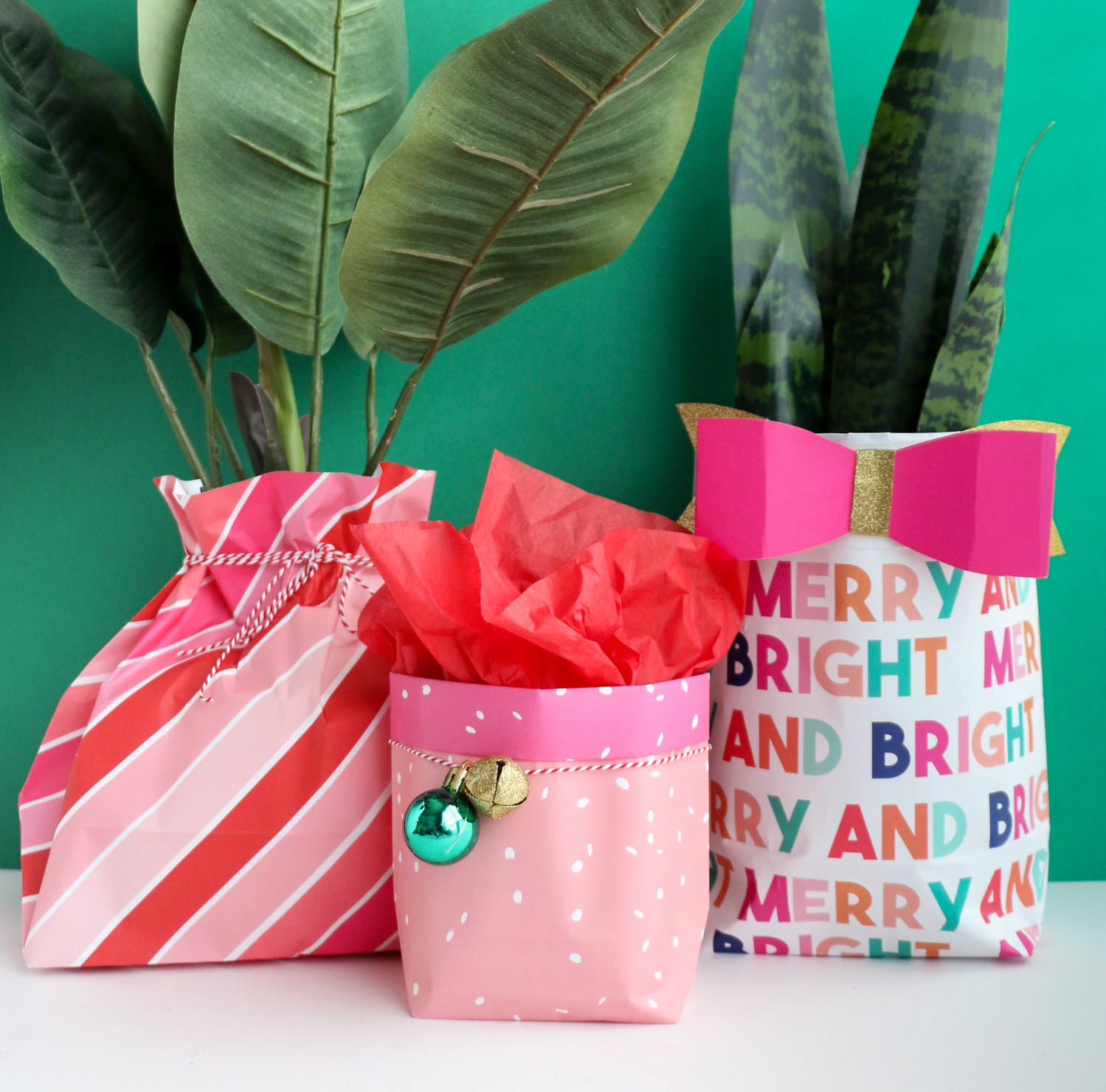 Make reuse crafts with wrapping paper leftover How To Make A Gift Bag Out Of Wrapping Paper A Beautiful Mess