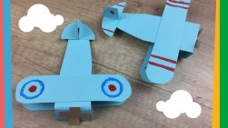 Paper Airplane Craft Paper Airplane Craft Easy Diy Project For Kids Customize It With