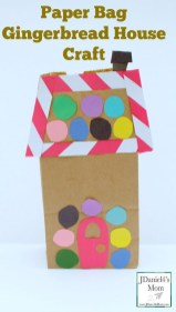 Paper Bag Craft Ideas Paper Bag Gingerbread House Craft This Fun Holiday Craft Can Be