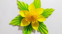 Paper Craft For Adults Origami Easy Paper Flower L Very Easy To Make L Paper Craft Ideas L