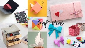Paper Craft Photos 10 Lovely Paper Crafts Diy Craft Ideas Art All The Way Youtube