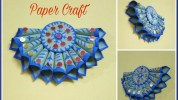 Paper Crafts For Wall Decor Diy Home Decor Idea Easy Paper Craft Paper Wall Hanging 2017