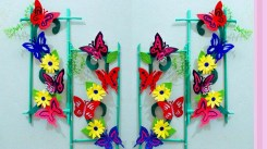 Paper Crafts For Wall Decor Paper Craft Ideas For Room Decoration Wall Decoration With Paper