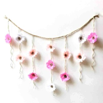 Paper Crafts For Wall Decor Paper Craft Ideas For Wall Decoration Paper Flower Wall Hanging