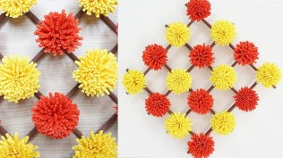 Paper Crafts For Wall Decor Paper Flower Wall Hanging Craft Ideas Diy Paper Crafts Wall