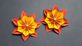 Paper Crafts Instructions Amazing Paper Flowers For Home Decoration How To Make Paper Flower