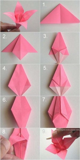 Paper Crafts Instructions Handmade Paper Crafts Ideas Step Step For Kids Examples And Forms
