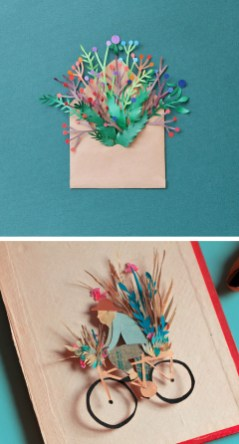 Paper Cutting Crafts 10 Examples Of Cut Paper Illustration To Put You In Tune With Nature