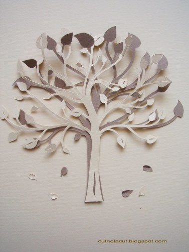 Paper Cutting Crafts Spring Tree A Papercraft Papercraft On Cut Out Keep Creation