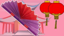 Paper Fan Craft For Kids Learn How To Make A Chinese Fan Easy Diy Paper Fan Craft Summer