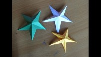 Paper Folding Crafts Instructions Easy Crafts For Beginners How To Make Origami Stars Simple