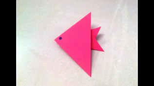 Paper Folding Crafts Instructions How To Make An Origami Paper Fish 1 Origami Paper Folding