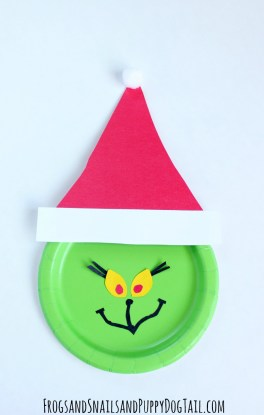 Paper Plates Arts And Crafts Grinch Paper Plate Craft Fspdt