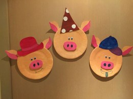 Paper Plates Arts And Crafts Paper Plate 3 Little Pigs Projects Done Pinterest Paper