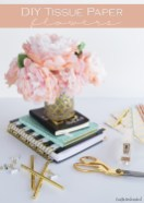 Paper Tissue Crafts How To Make Tissue Paper Flowers Crafts Unleashed