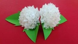 Paper Tissue Crafts How To Make Tissue Paper Flowers Making Tissue Paper Flowers