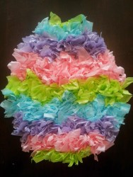 Paper Tissue Crafts Little Townhome Love Tissue Paper Easter Egg Crafts