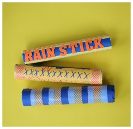 Paper Towel Roll Craft Recycled Craft Make A Rainstick Kix Cereal