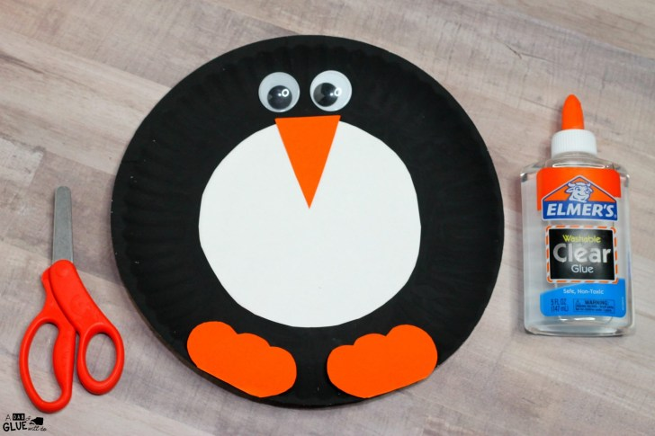 30 Elegant Photo of Penguin Paper Plate Craft