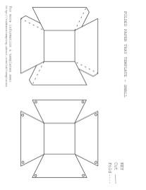 Printable Paper Crafts Templates Printable Paper Crafts Templates