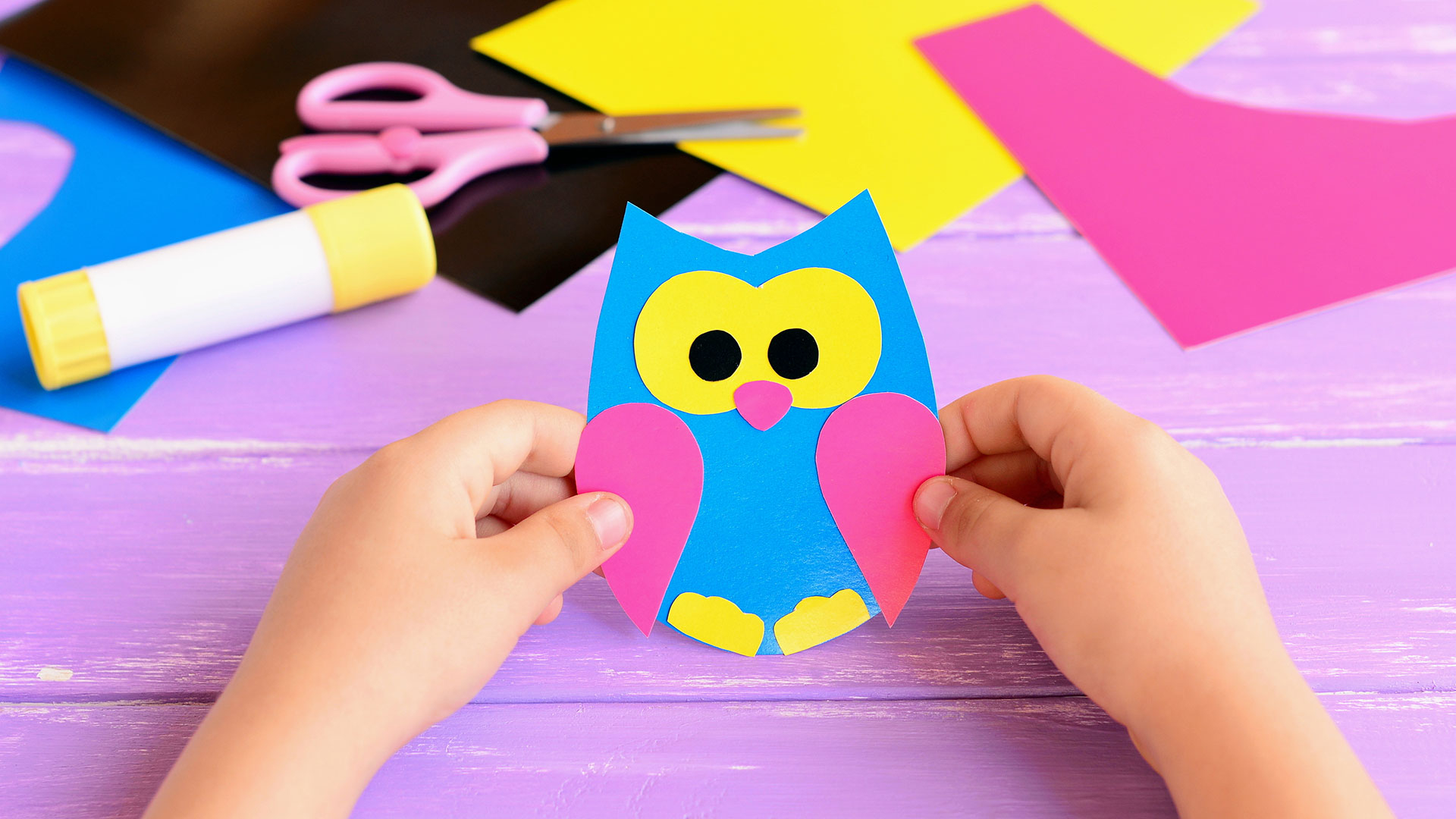 Simple and Cute Construction Paper Crafts for Kids 10 Easy Adorable Animal Crafts Kids Can Make Sheknows