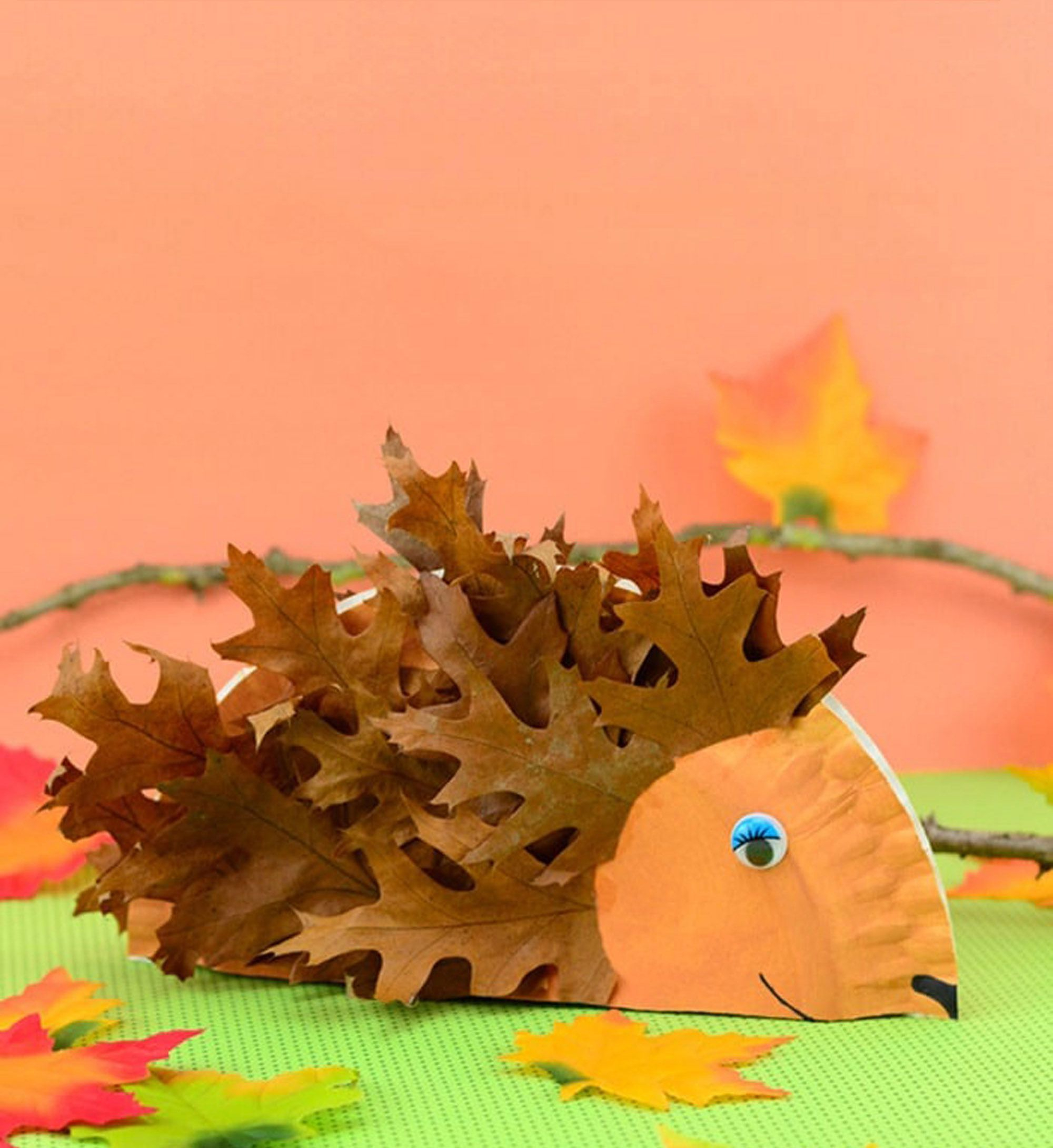 Simple and Cute Construction Paper Crafts for Kids 58 Fall Crafts For Kids Fall Activities And Project Ideas For Kids