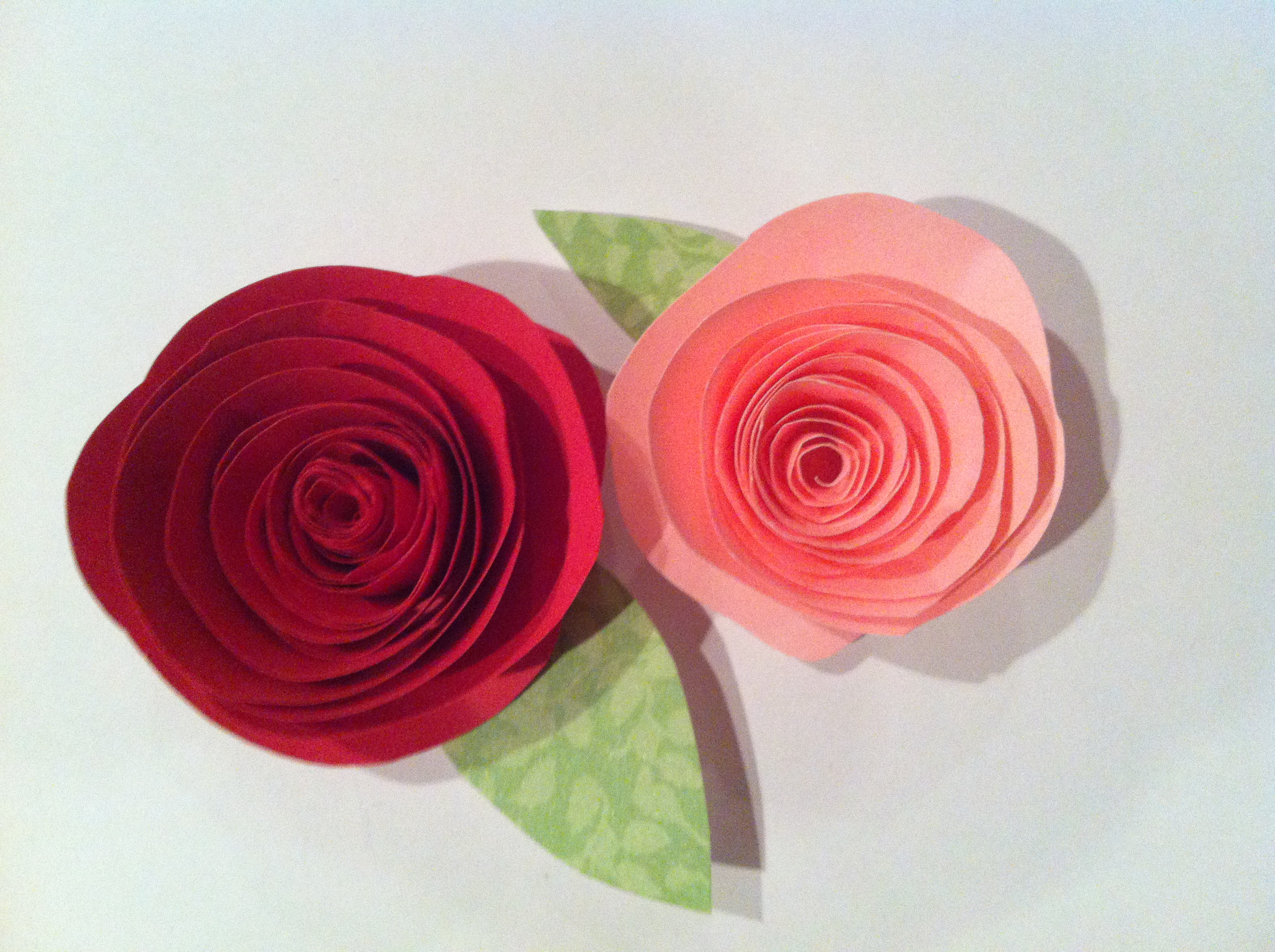 Simple and Cute Construction Paper Crafts for Kids Pretty Paper Roses Desks Dreams