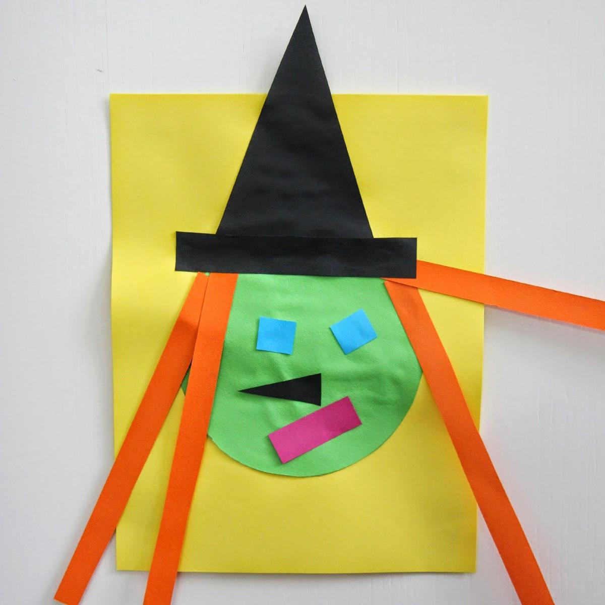 Simple paper craft for preschoolers 13 Easy Halloween Crafts For Toddlers Parents