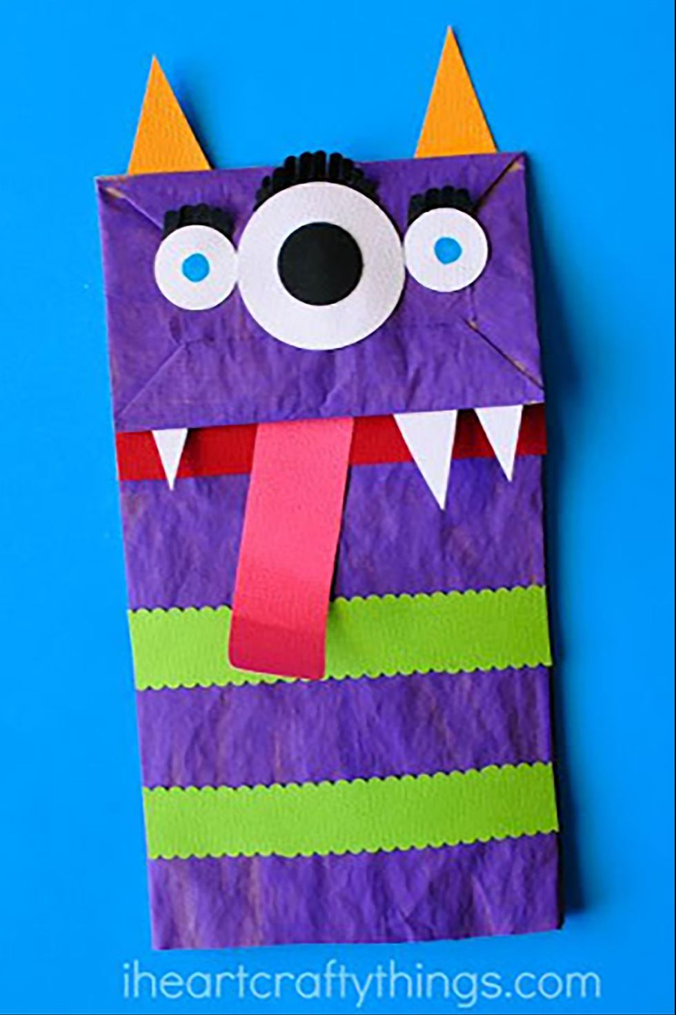 Simple paper craft for preschoolers 40 Easy Halloween Crafts For Kids Fun Diy Halloween Decorations