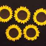 Sunflower Paper Plate Craft Fun With Friends At Storytime Here Comes The Sunflower
